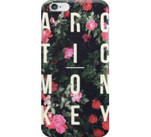 Arctic Monkeys Floral Shirt iPhone Case/Skin