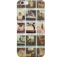 Taylor Swift Polaroid Collection iPhone Case/Skin