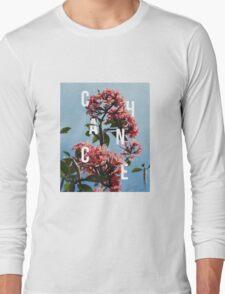 Chance the Rapper - Floral Shirt Design Long Sleeve T-Shirt
