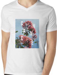 Chance the Rapper - Floral Shirt Design Mens V-Neck T-Shirt