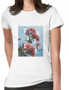 Chance the Rapper - Floral Shirt Design Womens Fitted T-Shirt