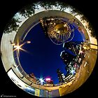 Columbus Circle (night) by digitizedchaos