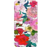 Peonies & Roses iPhone Case/Skin
