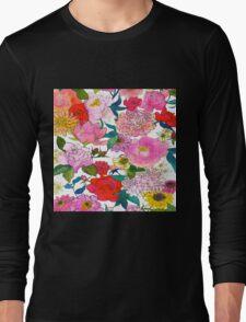 Peonies & Roses Long Sleeve T-Shirt