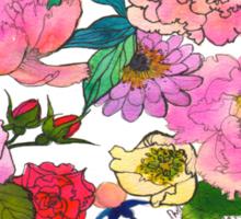Peonies & Roses Sticker