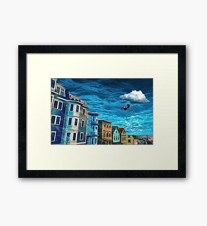 Ocean Swing Framed Print