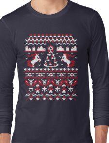 An Ugly Pokemon Christmas Long Sleeve T-Shirt