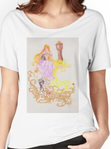 The Oral Tradition of Rapunzel Women's Relaxed Fit T-Shirt
