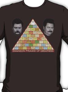 Swanson Pyramid of Greatness T-Shirt