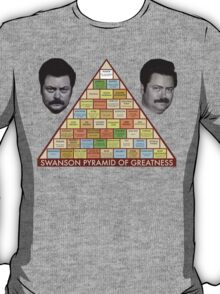 Swanson Pyramid of Greatness T-Shirt