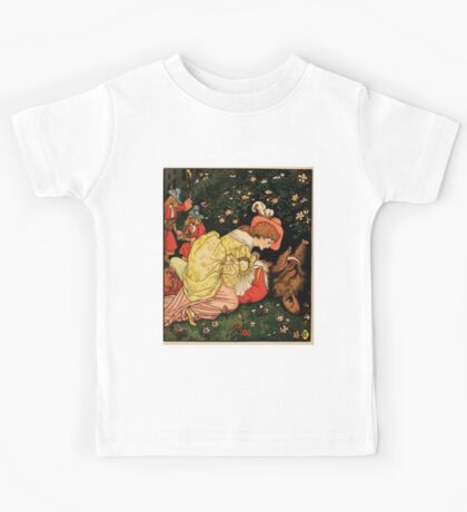 Beauty and the Beast by Walter Crane 1875 22 - Death Kids Tee