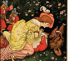 Beauty and the Beast by Walter Crane 1875 22 - Death by wetdryvac
