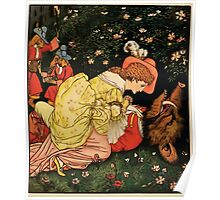 Beauty and the Beast by Walter Crane 1875 22 - Death Poster