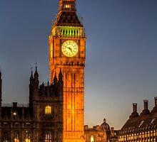 Westminster and Big Ben by DavidHornchurch