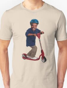 """This is Steve Harvey as a Five Year Old Riding a Scooter"" T-Shirt"