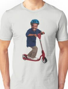 """""""This is Steve Harvey as a Five Year Old Riding a Scooter"""" Unisex T-Shirt"""