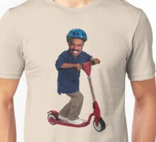 """This is Steve Harvey as a Five Year Old Riding a Scooter"" Unisex T-Shirt"