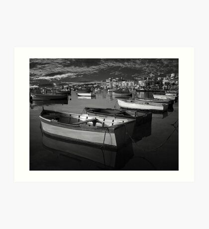 Fishing Boats at Rest Art Print