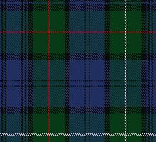 00494 MacKenzie Bailey Clan Tartan Fabric Print Iphone Case by Detnecs2013