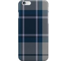 00492 Longniddry Blue Dance Tartan  iPhone Case/Skin