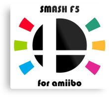 Smash F5 for amiibo Metal Print