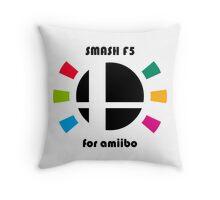 Smash F5 for amiibo Throw Pillow