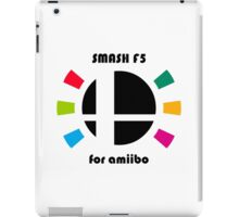 Smash F5 for amiibo iPad Case/Skin