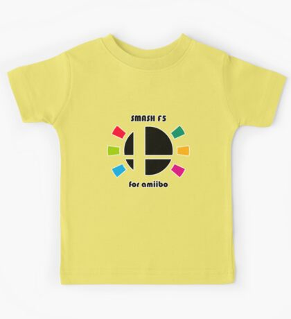 Smash F5 for amiibo Kids Tee
