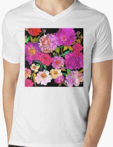 Petal Power Mens V-Neck T-Shirt