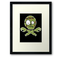 Zombie (Halloween) Framed Print