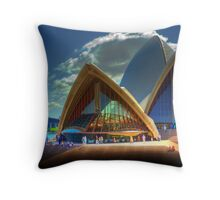 A Different View - The Sydney Opera House Throw Pillow