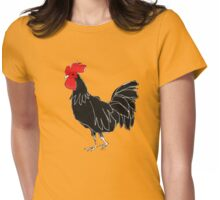 Rooster Womens Fitted T-Shirt