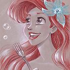 Toned Paper Ariel by CherryGarcia