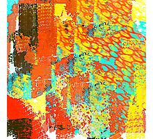 Colorful and Wild Abstract Photographic Print