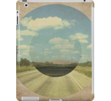 Open Road Collage iPad Case/Skin