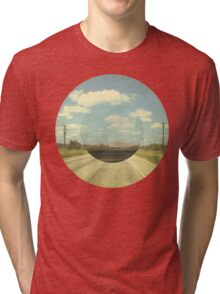 Open Road Collage Tri-blend T-Shirt