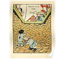 Fairy ship 18xx Walter Crane 10 - Almond in the Hold Poster