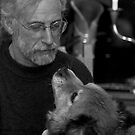 Gary and Lucky BW by Judith Oppenheimer
