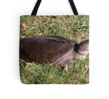 Snapping turtle on land Tote Bag