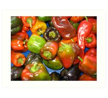 Peppers at Ann Arbor Farmers Market Art Print