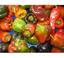 Peppers at Ann Arbor Farmers Market Photographic Print