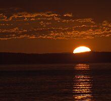 Sunset at Deception pass WA. by JWallace
