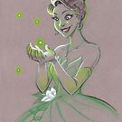 Toned Paper Tiana by CherryGarcia