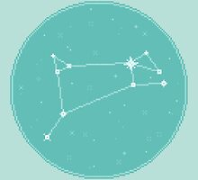 8bit Constellations:  Aries by sp8cebit