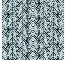 Metallic Spade Pattern Photographic Print