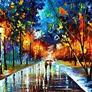 Winter Park 2 — Buy Now Link - www.etsy.com/listing/168145906 by Leonid  Afremov