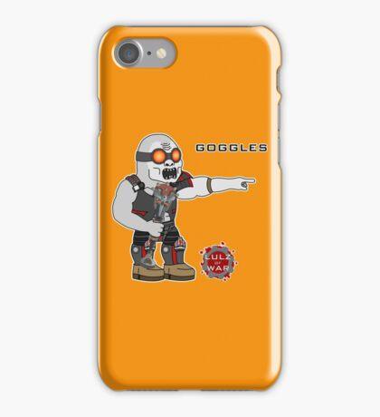 Lulz Of War: Goggles iPhone Case/Skin