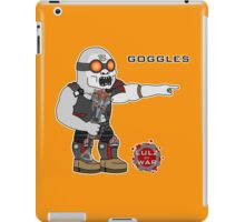 Lulz Of War: Goggles iPad Case/Skin