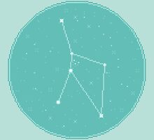 8bit Constellations:  Cancer by sp8cebit
