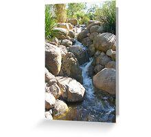 Running Water Greeting Card